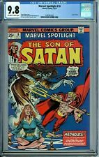 MARVEL SPOTLIGHT 18 CGC 9.8 SON OF SATAN NEW NON CIRCULATED CGC CASE