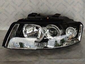 200006052 New Original TYC Headlight halogen LEFT for Audi A4 B5