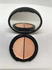 EVE PEARL DUAL SALMON CONCEALER CREAM HIGHLIGHT LIGHTWEIGHT LIGHT .16 OZ RUBBED