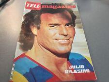 TELE MAGAZINE N°1310 (décembre 1980) : JULIO IGLESIAS
