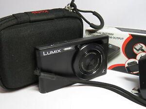 Panasonic Lumix DMC-XS1 Black 16.1MP 5x Zoom HD Slim Digital Compact Camera