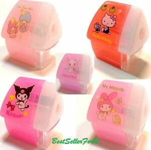Authentic Sanrio Small Pencil Sharpener Kids School Office Stationery