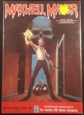 Maxwell Manor - Apple II - Avalon Hill - SEALED