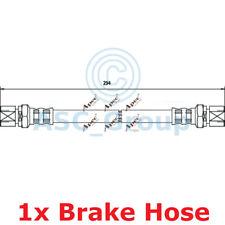 APEC BRAKING 234mm Scheibe Bremssattel flexibel GUMMISCHLAUCH hos3012