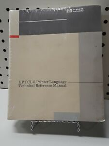 Hewlett Packard PCL 5 Printer Language Technical Reference Manual NEW SEALED