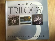 A-ha Trilogy - Hunting.../scoundrel Days/stay On the Roads 3CD New / Sealed
