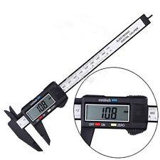 150MM 6inch LCD Digital Dial Caliper Micrometer Easy Use Measuring Tool US
