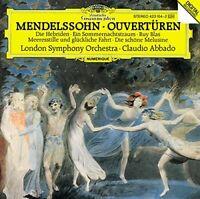 Mendelssohn - Overtures/LSO/Abbado Gh (NEW CD)