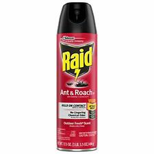 Raid Ant & Roach Killer Spray Bugs Insect Spider Indoor Use Fresh Scent, 17.5 oz