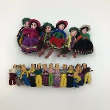 Guatemalan Worry Doll Barrettes