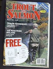 Trout And Salmon, March 1990, Trout Streams, Brownies In The Balance.