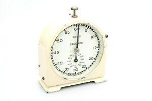 Vintage Ilford Darkroom Developing Analog Timer - Clock - Fully Working