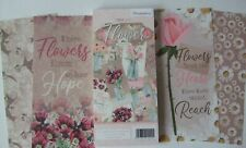 """Hunkydory 18DL toppers from """"Flower Jars""""Collection see pictures see description"""