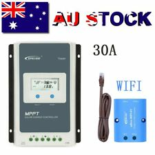 EPEVER 30A MPPT Solar Charge Controller 12/24V Auto PV 100V Li-Battery+Ebox-WIFI
