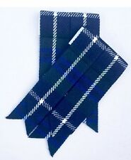 Kilt Sock Flashes Douglas Blue/Scottish Highland  Kilt Hose flashes/Kilt Flashes