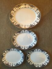 More details for antique devon ware s f & co stoke on trent no 54/963 ritz platters made england