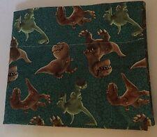 Handmade Good Dinosaur 100% Cotton Pillowcase 20x34 Arlo Butch Ramsey Green New