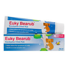 Euky Bearub Eucalyptus Chest Rub 50g - Euky Bear Gentle on Most Sensitive Skin