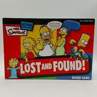 The Simpsons Lost and Found! Board Game - 2005 - Complete Family Fun