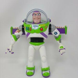 Disney Toy Story Talking Buzz Lightyear 12 Inch Figure Pixar Lights Sounds