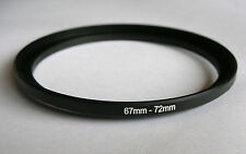 STEP UP Adapter 67mm-72mm Stepping Ring 67mm a 72mm 67-72 Adattatore Filtro