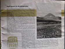 Catalogo Marklin 1959 in scala H0 - ITA - Tr.3 --- SENZA COPERTINA -