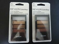 Revlon ColorStay 12 Hr Eye Shadow Quad - PRICELESS METALS #317 - TWO New /Sealed