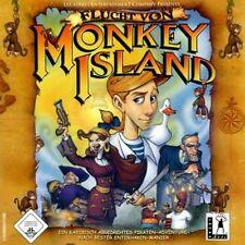 Monkey Island 4 IV fuga di * tedesco ottimo stato