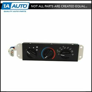 HVAC AC A/C & Heater Control with Blower Motor Switch for Jeep Wrangler TJ New