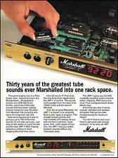 Jim Marshall JMP-1 Midi Preamp 1992 guitar amp ad 8 x 11 advertisement print