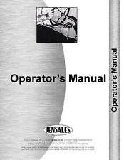 Massey Ferguson 550 Combine Operators Manual MH-O-MF550COMB