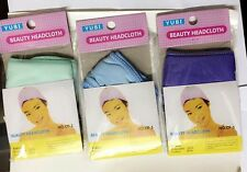 Soft Adjustable Hair Turban Head Band for Make Up Facial Salon Spa