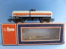 Train Lima - Wagon long citerne Butagaz - En boîte - HO  - *