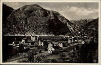 Eidfjord Norwegen Norge Hordaland AK ~1930 Landschaft Liggende Hafen Port Dorf