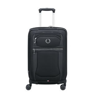 """Delsey Paris Executive Collection 21"""" Expandable Spinner Luggage - Black"""