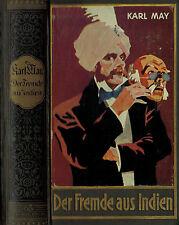Karl May, Der Fremde a Indien Ges. Werke Bd 65, Stand-Ausg Bamberg, 100. Tausend