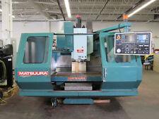 Matsuura Mc-760Vx Vertical Cnc Milling Machine, Id# M-021