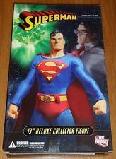 "Superman DC Direct 13 ""deluxe collector figure C / W numéroté certificat Ltd 5000"