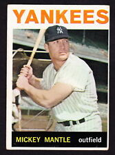 1964 TOPPS #50 MICKEY MANTLE YANKEES