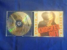 PAULA ABDUL - KNOCKED OUT  - 4 TRACKS CD