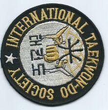 Taekwon-Do Society International patch 4 in diameter