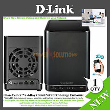 D-link ShareCenter DNS-340L 4-Bay Network Storage Enclosure NAS Server New