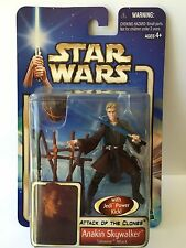 NEW Star Wars Attack Of The Clones Anakin Skywalker Tatooine Attack 2002 Figure