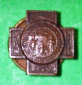 SPANISH AMERICAN WAR VETERAN PIN - Lapel Button Hole - blank back