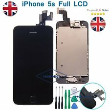 For iPhone 5S SE LCD Touch Screen Display Digitizer Assembly Replacement BLACK