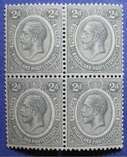 1913 NYASALAND 2d SCOTT# 14 S.G.# 87 UNUSED BLOCK OF 4                   CS08720