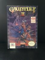 Gauntlet II 2 NES With Box Nintendo 4 player game Nintendo Entertainment System