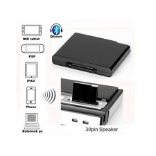 Plug and Play Bluetooth Stereo Receiver for iPod, iPhone, iPad Docks.