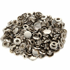 40 Set Metal Snap Button Fastener With 4 Fixing Tools Press Studs Clothes Kit