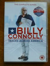 Billy Connolly Tracks Across America DVD, The Complete Series